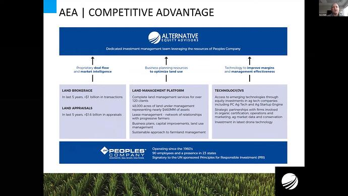 AEA competitive advantage