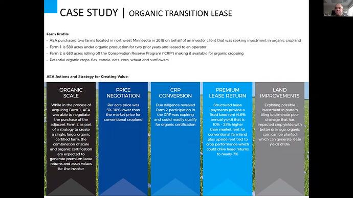 Case study - organic transition lease