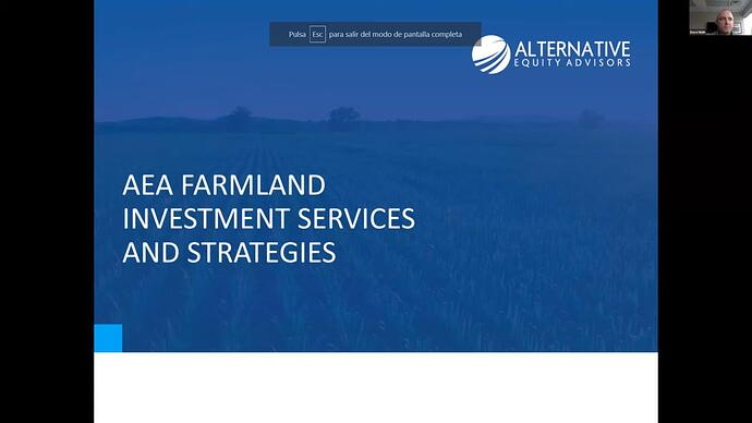 AEA farmland investement services and strategies