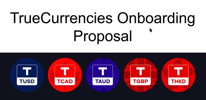 Currencies Proposal