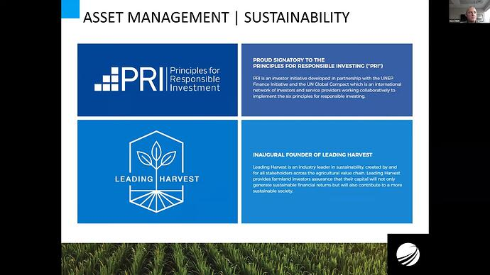 Asset management - Sustainability