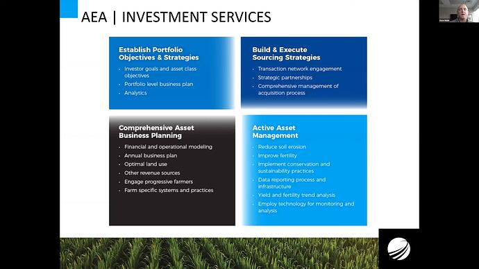 AEA investment services